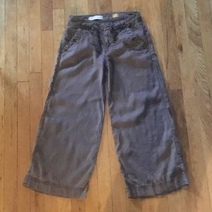Anthropologie Brown Casual Pants